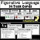 Figurative Language Poster and Task Card Bundle