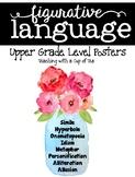 Figurative Language Posters {4 Designs: heartbeat, simple,