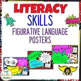 Figurative Language Posters British Spelling