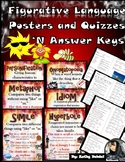 Figurative Language Posters and Quizzes