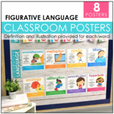 Figurative Language Posters & Bookmark