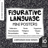 Figurative Language Posters: Composition Book Edition