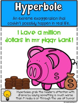 Figurative Language Posters- Cute, Colorful, and COMPREHENSIVE