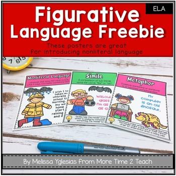 Figurative Language Posters {FREEBIE}