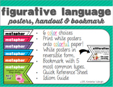Figurative Language Posters + More