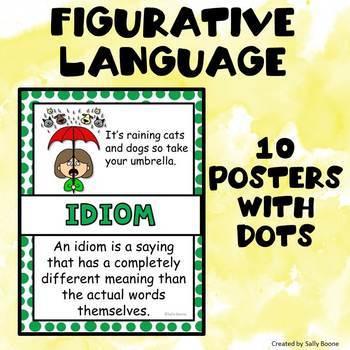 Figurative Language Posters -Portrait Format