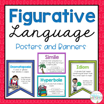 Figurative Language Posters and Banners