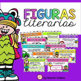 Figurative Language Posters and activities in Spanish/ Las Figuras Literarias