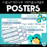Figurative Language Posters (cool colors)