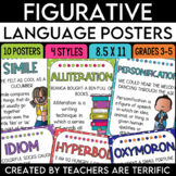 Figurative Language Posters featuring Kids