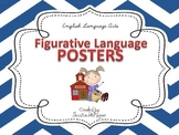 Figurative Language Posters for the Classroom: Chevron Theme