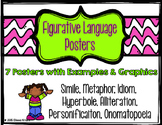 Figurative Language Posters with Graphics