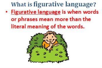 Figurative Language Power Point