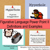 Figurative Language Power Point 2