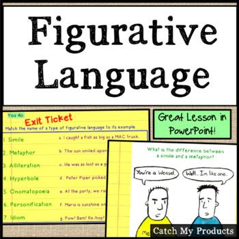 Figurative Language Power Point Lesson