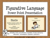 Figurative Language Power Point - Definitions and Illustrated Examples