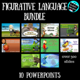 Figurative Language PowerPoint Lessons Bundle