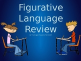 Figurative Language PowerPoint: Examples of Vocabulary Review Quiz with Answers