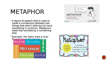 Figurative Language PowerPoint Notes