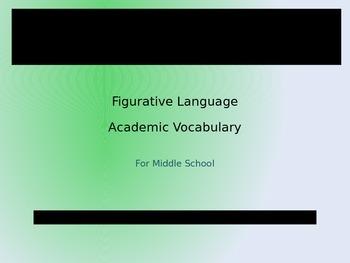 Figurative Language PowerPoint Presentation