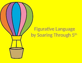 Figurative Language PowerPoint (Virginia SOL 5.4d)