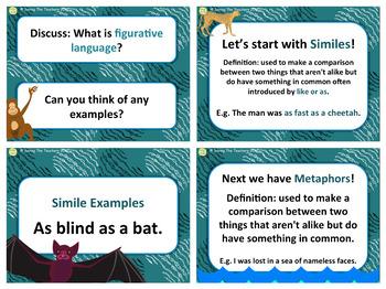 Figurative Language PowerPoint and Quiz