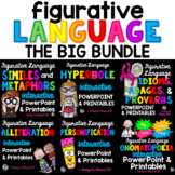 Figurative Language PowerPoints, Worksheets, and Activitie