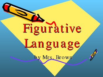 figurative language powerpoint by beverly brown tpt