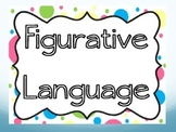Figurative Language Powerpoint with Idiom Game