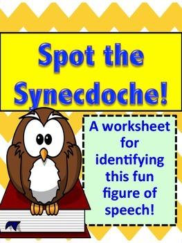 Figurative Language Practice: Synecdoches