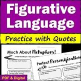 Figurative Language Practice with Quotes