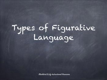 Figurative Language Presentation and Flip Book Project