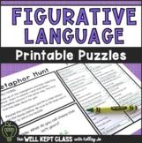 Figurative Language Practice Worksheets