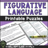 Figurative Language Practice Worksheets | Distance Learning