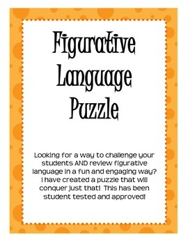 Figurative Language Puzzle