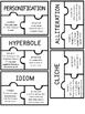 Figurative Language Puzzles {FREEBIE}