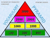 Figurative Language - Pyramid Game