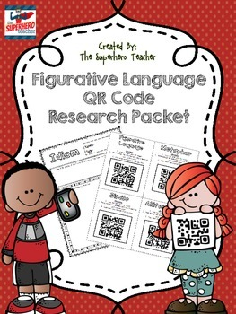 Figurative Language QR Code Research Packet
