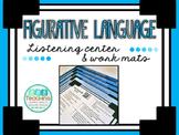Figurative Language- QR Listening Center and Work Mats