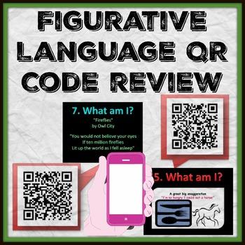 Figurative Language QR code review