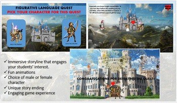 FIGURATIVE LANGUAGE QUEST (W/ all Fig. Lang. PowerPoints I