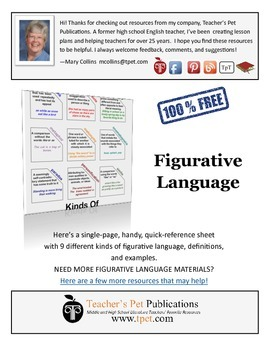 Figurative Language Quick Reference Guide