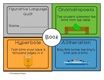 Figurative Language Quilts