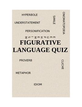 Figurative Language Quiz: 10 Different Figures of Speech