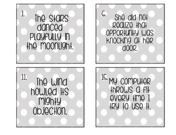 Figurative Language Quiz Pack