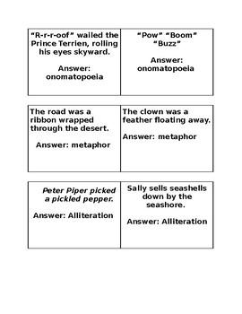 Figurative Language Quiz Quiz Trade
