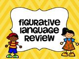 Figurative Language Quiz Show