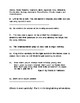 Figurative Language Quiz and Answer Key