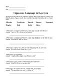 Figurative Language Rap Quiz