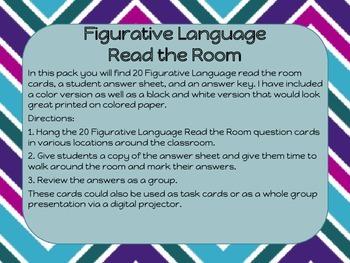 Figurative Language Read the Room